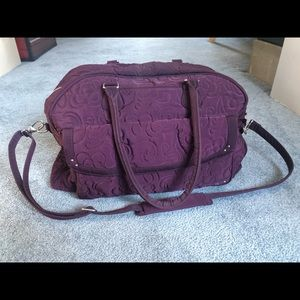Vera Bradley Weekender Travel Bag - Violet/Purple